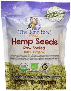 Organic Raw Hemp Seeds, 16oz >>> Haven't you heard that you can find more discounts at this image link : Baking Ingredients