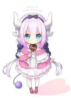 [Kawaii]Be Kanna-chans Valentine? [Maid Dragon]