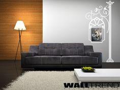 W 1007 Oszlopon lógó cégér faltetoválás - WALLtrend - faltetoválás, falmatrica, faldekoráció