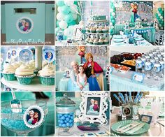 FROZEN disney princess Anna Elsa Girl Birthday by ShopPartyTales