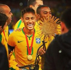 Awwwww i love his smile! Neymar Jr, I Love Him, My Love, Soccer Players, My Idol, Think, Football, Smile, Santos