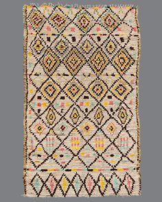 vintage Moroccan rug, Azilal #AZ47