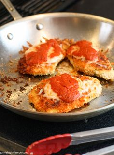 Chicken Parmesan on the table in 30 minutes!
