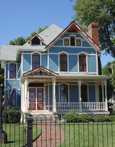 Victorian style house in Portland
