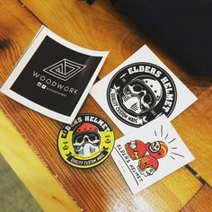 More stickers swap. Thanks @recyclesmc  #carpentry #woodwork #woodworking #wood #diy #maker #make #handmade #craft #craftsman #palletwood #pallets #palletwoodproject de alijanah