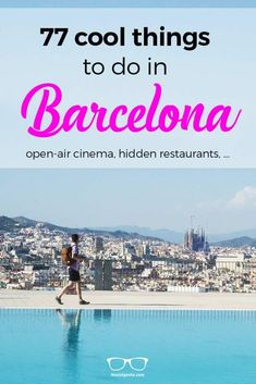 Of course, there are also 23 fun activities Barcelona as well as 59 free things we collected. We at Hostelgeeks care highly about useful information. This is why we had an extensive research. And as Barcelona is our home, we know the Catalan capital like Barcelona Hotel, Barcelona Travel, Europe Travel Tips, Travel Guides, Travel Destinations, Photo Summer, Summer Vibe, Valencia, List Of Activities
