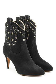 Ankle Boots aus Veloursleder | Marc Jacobs