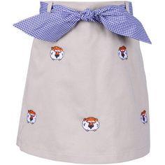 Aubie khaki toddler skirt - too cute and so preppy