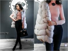 Get this look: http://lb.nu/look/8575897  More looks by Katerina Lozovaya: http://lb.nu/casakaterina  Items in this look:  Romwe Body   #casual #chic #elegant #fur #vest #furvest #look #romwe #cool