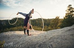 Mary Jane at the Moon Rocks | Hooping.org