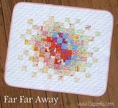 Far Far Away Baby Quilt by mermamy, via Flickr