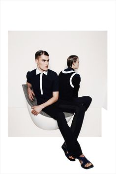 Harry Pulley & Henry Evans by Marek Chorzepa for Vulture