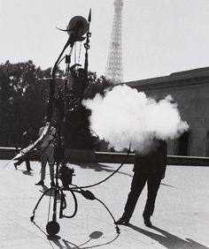Jean Tinguely by Robert Doisneau 1959