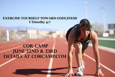 Are you frustrated with your spiritual growth and disciplining your appetite? Do you long for the zeal you used to have? New paths don't come from old ways. Join us for Cor Camp, June 22nd and 23rd and be refreshed!