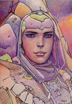 #Moebius #comics #illustration