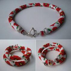 Схемы жгутов-2 Crochet Beaded Necklace, Beads, Bracelets, Macrame, Jewelry, Embroidery, Patterns, Decoration, Jewerly