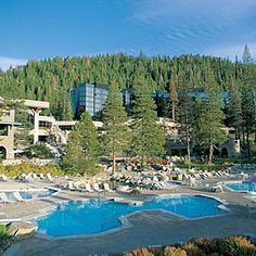 Resort at Squaw Creek - Olympic Valley, CA   Sunset