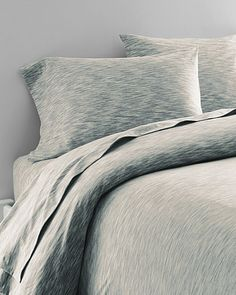 Space-Dyed Jersey-Knit Bedding