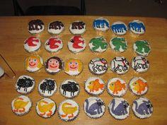 brown bear cupcakes