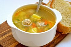 63 Ideas For Soup Potato Easy Lunch Recipes Avocado Recipes, Lunch Recipes, Seafood Recipes, Soup Recipes, Chicken Recipes, Cooking Recipes, Healthy Recipes, Meatball Soup, Top 5