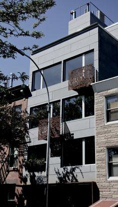 NY - Multifamily. EQUITONE [tectiva] TE20 facade panels. adress: 97 Douglass street, Brooklyn, NY
