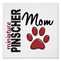 miniature pinscher mom! Yes I am love my babies!