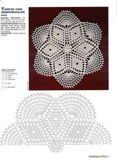 Bildergebnis für caminhos de mesa em croche com graficos