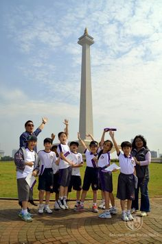 P5 #RoyalPrimaryAcademy Entry Point T2 2014-2015 #TimeTunnel #IPC #School #Kuningan #Jakarta