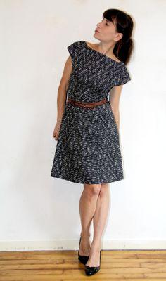 anna dress graphic / Jolies bobines