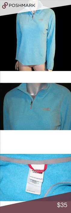 The North Face TKA 100 Glacier 1/4 Zip Pullover The North Face TKA 100 Microvelour Glacier 1/4 Zip Pullover. Womens Sz: Medium   Condition: Great shape, very minimal wear. Pre-owned. The North Face Jackets & Coats