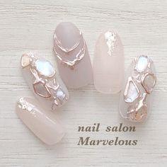 Acrylic Nails Nude, Nude Nails, Gel Nails, Japan Nail, Japanese Nail Art, Chic Nails, Mani Pedi, Nail Inspo, Summer Nails