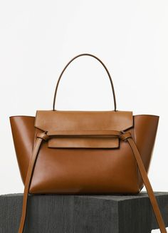 4173dd8587 Céline Mini Belt Bag in tan natural calfskin and suede lining