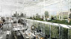 Light Forest: Helsinki Central Library - MenoMenoPiu Architects