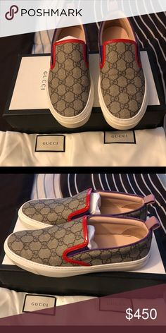 0804a282bae Shop Women s Gucci size 7 Sneakers at a discounted price at Poshmark.  Description  Gucci bag is not for sale.