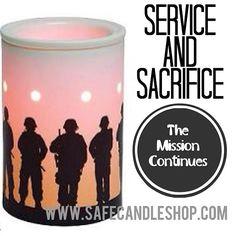 Service & Sacrifice Scentsy Charitable Cause Warmer
