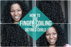 Get big, defined, frizz-free curls from your naturally curly hair – try finger coiling!