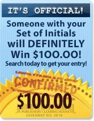 PCH 15 Million Sweepstakes 2017 Publishers Clearing House ...