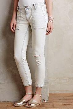 Closed Bonnie Straight Leg Jeans Sky Blue
