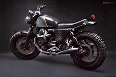 Moto Guzzi V7 Stone scrambler by Venier.