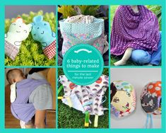 round-up: quick baby sewing projects || imaginegnats.com