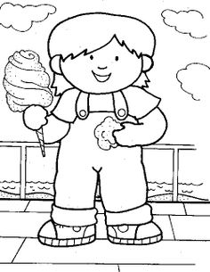 Cotton Candy Cane Coloring Page Coloring Pages