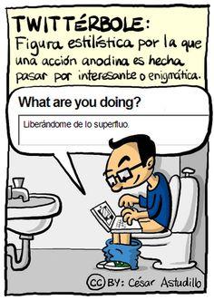 Twittérbole ¿lo practicas? #chiste #humor