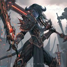 ArtStation - Draenei warrior, WL OP