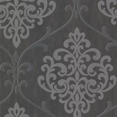 $66.99 Ambrosia Charcoal Glitter Damask