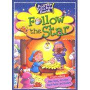 Follow the Star - Poster Sticker Book