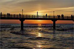 Michaela Rau - Seebrücke an der Ostsee