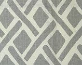 Pairs of designer curtain drapery panels, LINED with poly cotton, 50 X 90 inches KRAVET TREADS asphalt