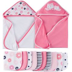 Gerber Newborn Girl Towels and Washcloth Bath Set 12 Pieces Pink Bath . Gerber Newborn Baby Girl towels and washcloth bath set 12 pieces pink bath Towel Girl, Baby Towel, Trendy Baby Clothes, Babies Clothes, Babies Stuff, Baby Diaper Bags, Baby Girl Newborn, Baby Accessories, Baby Items