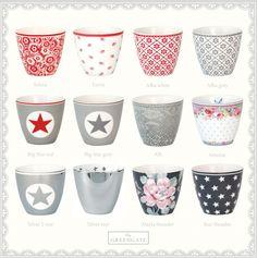 GreenGate Latte Cups....