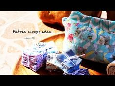 Have fabric scraps?Here's the way to use them up! Fabric Bags, Fabric Scraps, Best Christmas Gifts, Christmas Fun, Diy Coin Purse, Crumb Quilt, Leftover Fabric, Labor, Handmade Bags